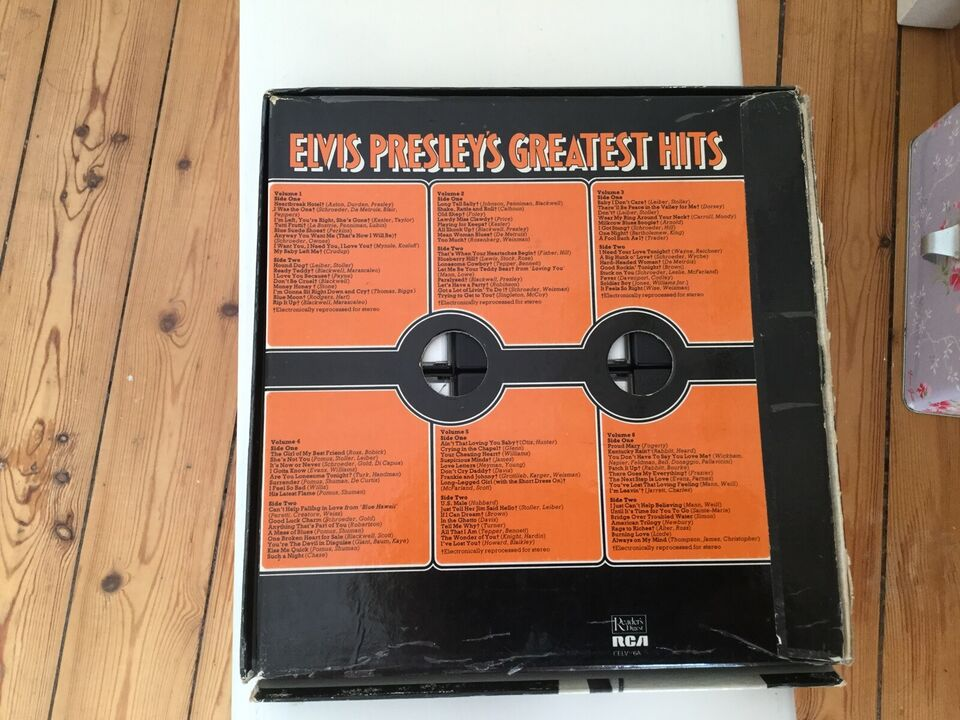 Elvis: Greatest hits, andet