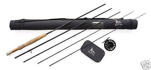 FLY FISHING ROD HI END SALTWATER FRESH WATER COMBO 9'0