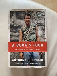 A-Cook-039-s-Tour-In-Search-of-Perfect-Meal-Anthony-Bourdain-HCDJ-2001-1st-1st