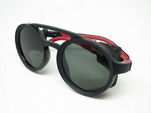 New-Authentic-Carrera-5046-S-807QT-Black-Red-w-Green-Sunglasses