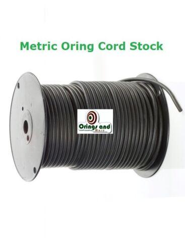 Métrica Buna O-ring Cable 4.5mm 70 duro precio para 5 metros