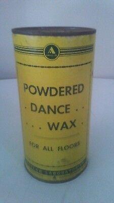 Powdered Dance Floor Wax New Old Stock Sealed Vintage Ebay