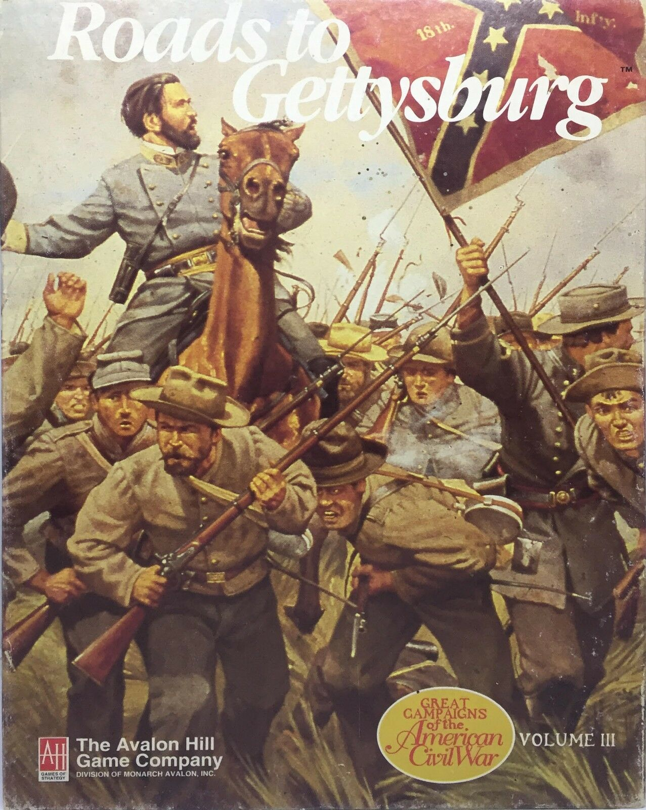 Boardgame - Roads to Gettysburg Volume III - Avalon Hill