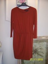 6a951626cd7a98 item 1 FRENCH CONNECTION ORANGE COPPER ELSA DRAPE JERSEY DRESS SIZE 12 BNWT  -FRENCH CONNECTION ORANGE COPPER ELSA DRAPE JERSEY DRESS SIZE 12 BNWT