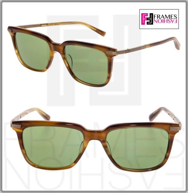 c03999df7046 DITA COOPER Square Amber Vintage Green 18K Gold DRX2075B Sunglasses 2076 Men