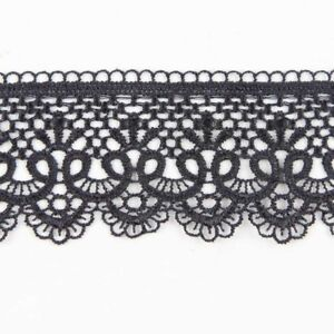 Beautiful-3-Yards-Black-Embroidery-Lace-Trim-Sewing-Applique-DIY-Dress-Decor