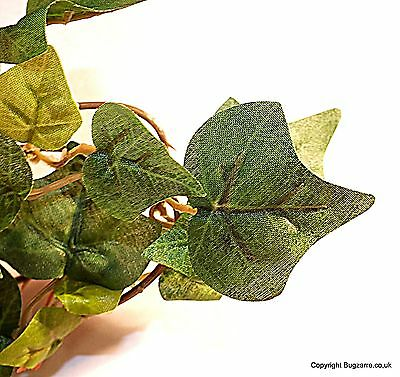 Vivarium Plants Artificial  Green or Verigated Ivy Garland  Small Leaved