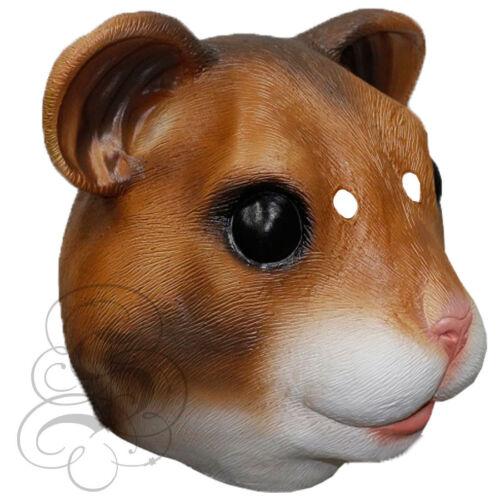 Latex House Pet Animal Parrot Labrador Cat Hamster Rat Rabbit Props Party Mask