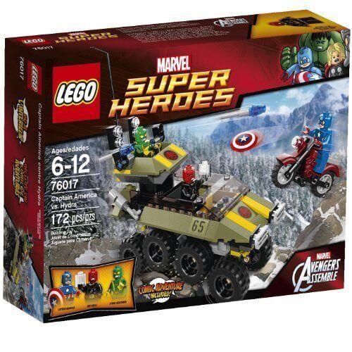 Faites plaisir à vos clients Lego Super Super Super Heroes 76017: Capitaine America vs. Hydra 2ba676