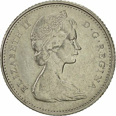 1975 10 Cents Royal Canadian Mint #521164 Canada Ottawa Elizabeth Ii