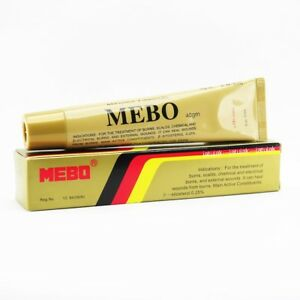 Mebo Burn Healing Cream Ointment Moist Exposed Scalds 40g Exp 2022