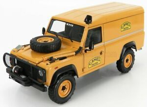 ALMOST-REAL 1/18 LAND ROVER   DEFENDER 110 SUPPORT UNIT RALLY CAMEL TROPHY BO...