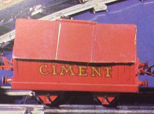 Kit de Transferts pour Wagon Trains Hornby Meccano CIMENT