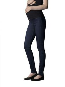 Ladies-Jeans-West-Maternity-Forever-Indigo-Skinny-Stretch-Jeans-Size-18L