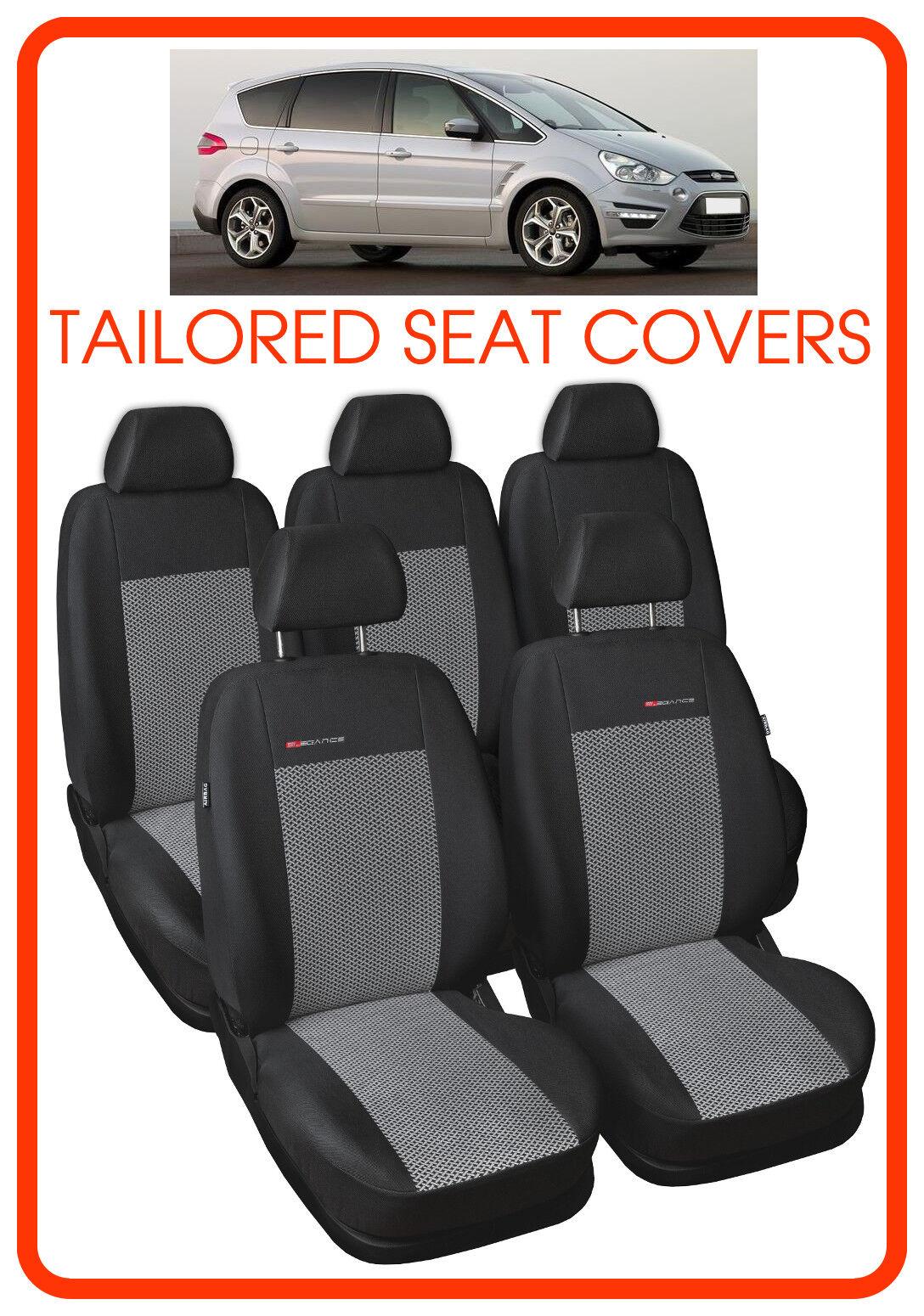 FORD SMAX su misura seat covers 2006  2015 Set Completo 5 posti modello 2
