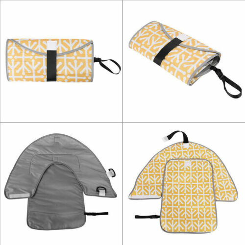 3 in 1 Foldable Portable Baby Diaper Mat Changing Pad Clutch Station Travel UK