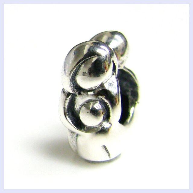 STR Silver Love Mother Child Forever Hug Baby Bead f/ European Charm Bracelet