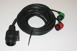 13 pin radex light 4 mt trailer wiring harness quick plug in fit to rh ebay co uk