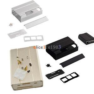 Premium Aluminum Alloy Metal Case for Raspberry Pi 2 Model B and RPi B Black