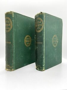 1870 Little Women (Two Volumes) – FIRST EDITION – Early Issue – Louisa ALCOTT