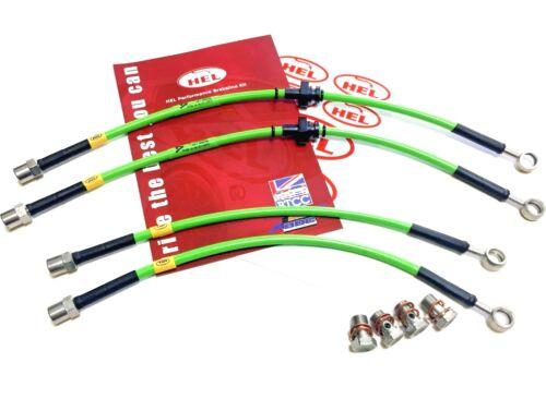 HEL Saab 9-3ss vector brake hose kit