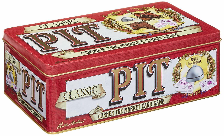Winning Moves Jeux Classic Pit-un favori depuis 1904-Parker Brougehers-Tin   pas cher
