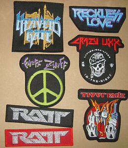 Crazy Lixx Reckless Love Heavens Gate Tigertailz Tnt Logo