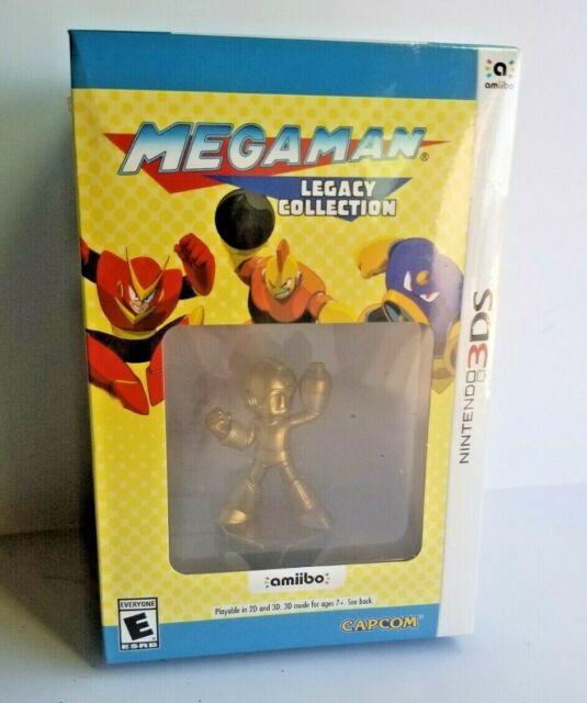 NEW Mega Man Legacy Collection: Collector's Edition (Nintendo 3DS Amiibo) SEALED
