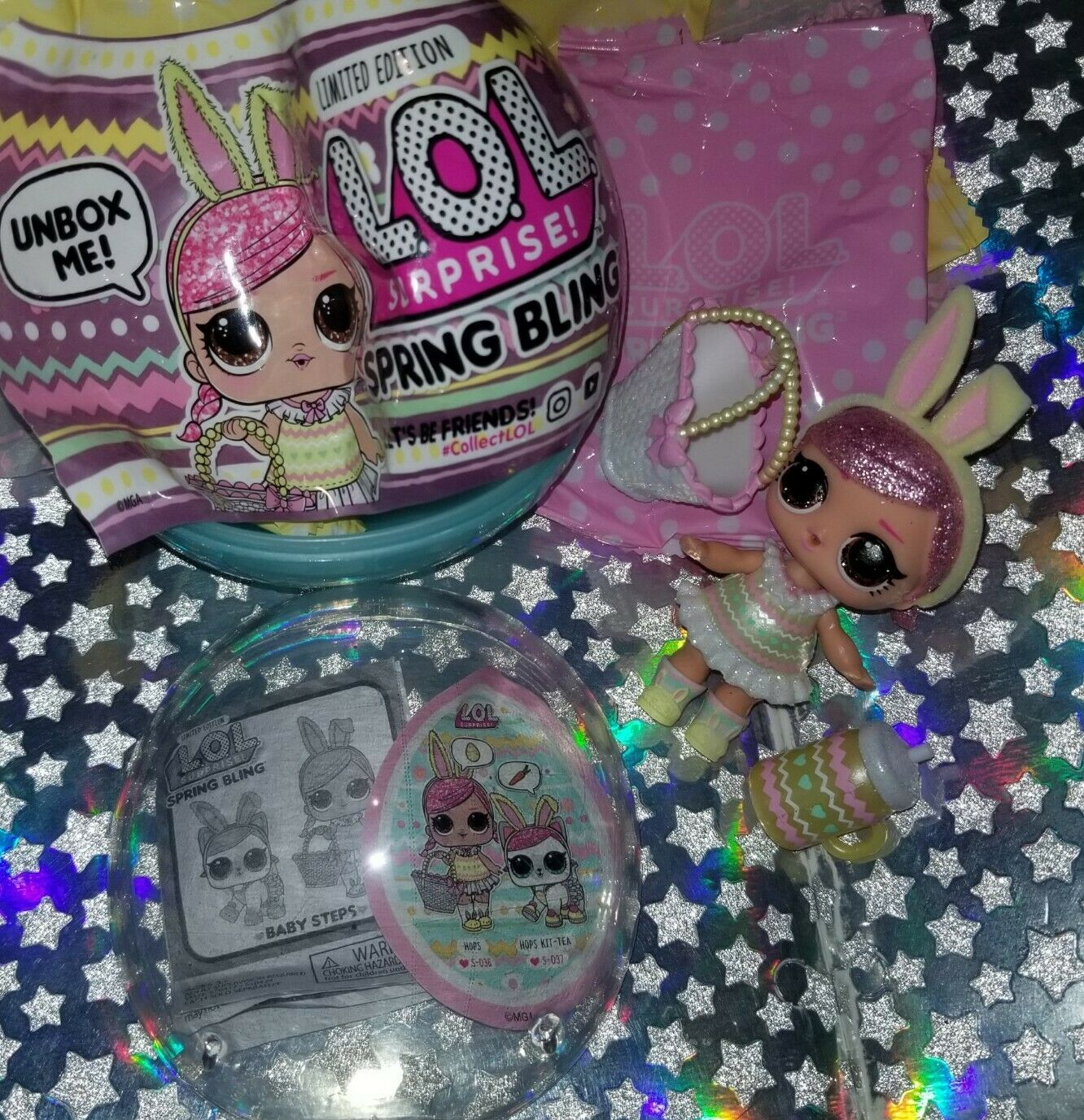 Model:570417 Multicolor L.O.L Surprise Spring Bling Limited Edition Doll with 7 Surprises