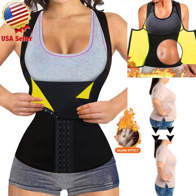 Slimming Belt Sauna Waist Cincher Girdle for Weight Loss Hot Thermo Sweat Shaper