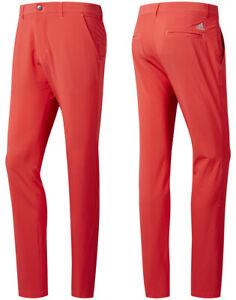 Adidas-Golf-Ultimate-365-Tapered-Golf-Trousers-Shock-Red-All-Sizes-32-034-Leg