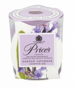 Price S Candles Scented Jar Garden Lavender 8298 5010414338298 Ebay