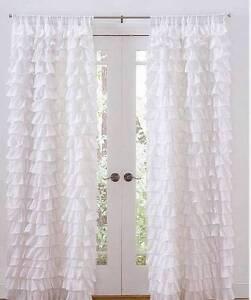 Image Is Loading Set Of 2 Shabby French Chic White Petticoat