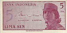 Indonesia 1964, 5 Sen (UNC)