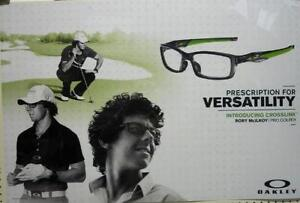 Details about OAKLEY sun golf 2012 RORY McILROY crosslink BIG duratrans  poster New Old Stock