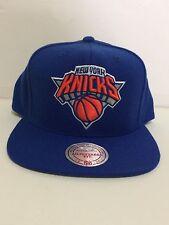 Mitchell & Ness  NewYork  Knicks Snapback  Royal /ORANGE/SILVER Cap OS  NEW