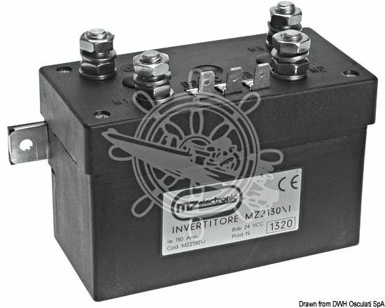 MZ Electronic Inverter f. zweipolige Motoren 130 A - 12 V