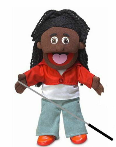 Silly Puppets Sierra Puppet Bundle 14 inch with Arm Rod