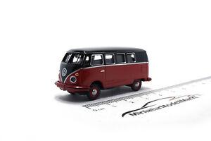 452633700-Schuco-VW-t1c-furgoneta-negro-rojo-26337-1-87