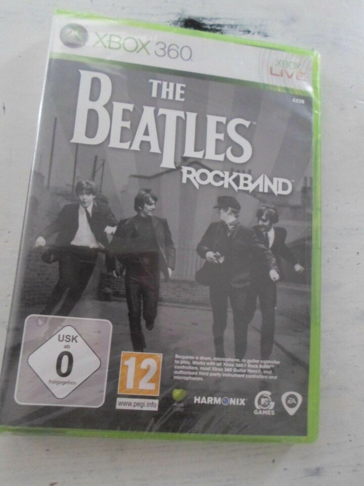 The Beatles Rockband, Xbox 360