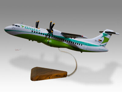 Models Sunny Atr 72 Binter Canarias Solid Kiln Dried Mahogany Wood Handmade Desktop Model To Prevent And Cure Diseases