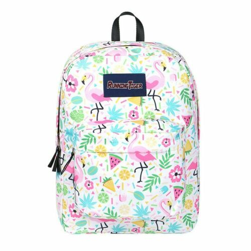 Kids Unicorn Backpack Galaxy School Bag Travel Satchel Laptop Doodle Rucksack UK