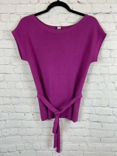 BANANA REPUBLIC cotton cashmere knit drop shoulder