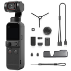 DJI Pocket 2 Creator Combo Action Camera - Black