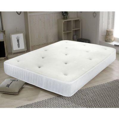 Reflex foam sprung mattress//quilted spring matress 3ft single 4ft6 double 5ft