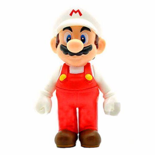 """2019 Gifts High quality Cute Super Mario Bros Luigi Mario Action Figures Toys 5/"""""""