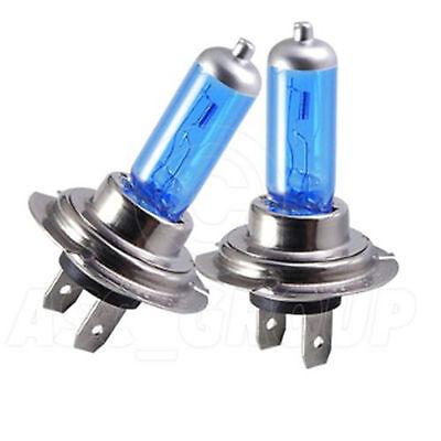 Fiat 500 55w Clear Xenon HID Low Dip Beam Headlight Headlamp Bulbs Pair