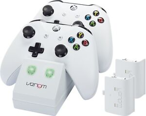 Venom Xbox One Controller Charging Dock with 2 x Rechargeable Battery Packs