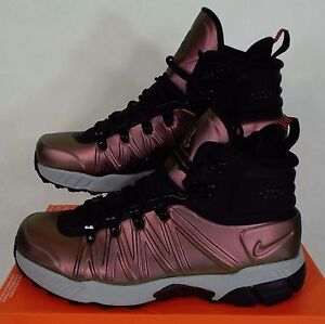 New Rare Sample Mens Nike Zoom Mw Foamposite Acg Boots Shoes 616215