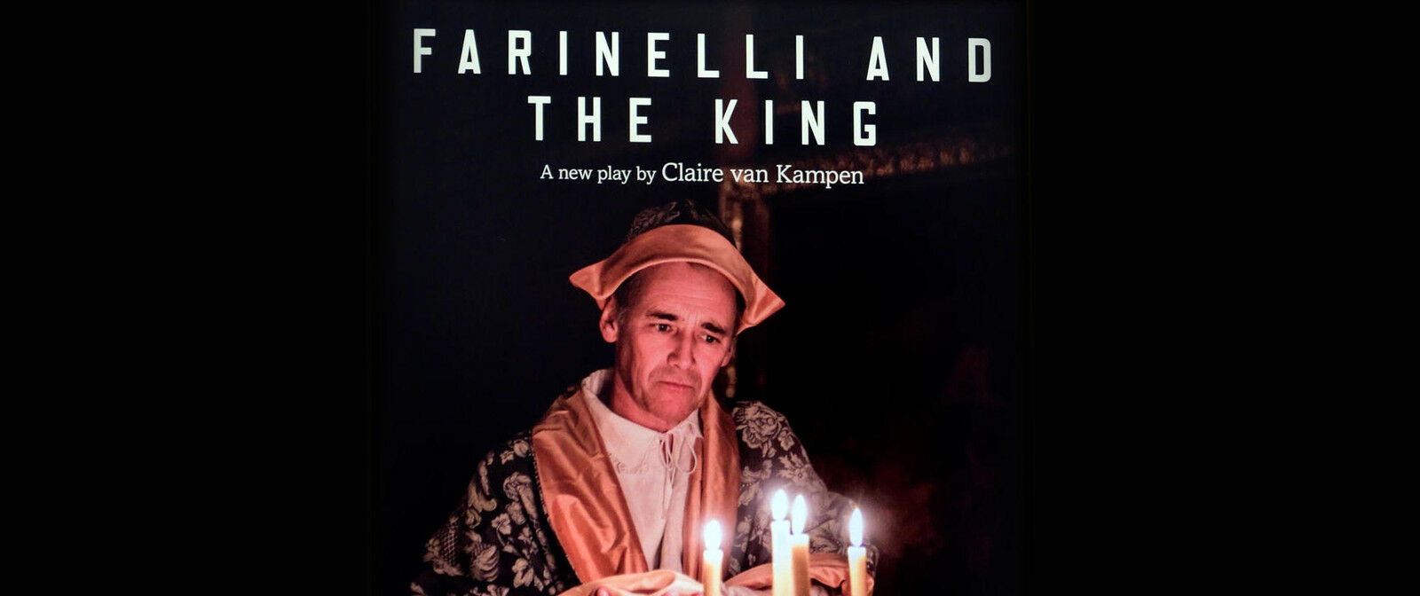 Farinelli and the King New York   New York, NY   Belasco Theatre   December 9, 2017